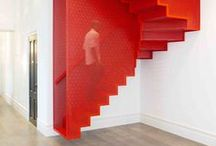 Red Alert / Ignite the darkest of interiors with a splash of striking scarlet…