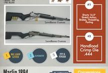 Marlin Lever Action Rifles / Over 150 years, the lever action sporting rifle has held a well earned place in the hearts and hands of American hunters. We've always loved their superb handling, traditional beauty, and rapid rate of fire. If you thought lever guns were obsolete or inaccurate, prepare to have your preconceptions slain. Visit our site to learn more http://www.rangerpointprecision.com