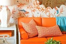 Orange is The New Black / Bright and beautiful, orange delivers a fruity finesse that dares to be different.
