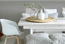 Scandinavian Style / Light, airy and effortlessly stylish, nothing says Scandi like natural wood, clean-lined furniture and elegantly simple décor.