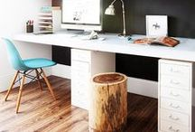 Office Space / Who said a home office has to be boring?