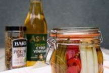 Pickling & Preserving / Preserve the flavours of the season and pickle with pride with these delicious recipes, all of which can be made with Aspall's range of quality vinegars.