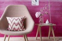 Think Pink / From pastel rose to magnificent magenta, this comely colour has a pretty playful tone and feminine flair that's sure to catch the eye.