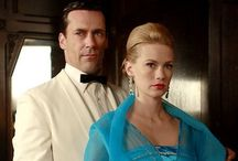 Mad Men / TV Series In The 1960's Era On AMC  / by Cynthia Cummings