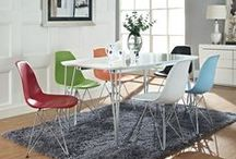 Ode to Eames / Stylish seating with a truly timeless charm.