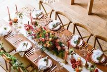 Table Decor / Enriching your dinner party with style, elegance & a thoughtful personal touch, the right table décor is often the key to a successful & memorable gathering.