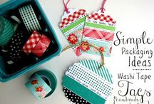 Washi tape ideas / by Semra Bayrak