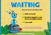 Waiting - Practice Activities / Practise the skill of waiting, an impulse control skill important for social and learning situations. The 'Waiting Script' pairs self-talk and actions to encourage intentional rather than impulsive behaviour.
