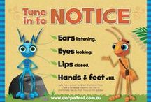 Tune in to Notice - Practice Activities / The 'Tune in to Notice' script supports focused listening.                           - Eyes looking - Ears Listening - Lips Closed - Hands and feet still -  Focused listening is and essential skill for attention, learning and social interactions. Children may benefit from explicit instruction and practice in using focused listening.