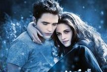 """""""TWILIGHT  MOVIES""""  (all 5) / These 5 movies from this series is the best movies to me, I love them all.I can't stop watching them.Edward and Bella found a strong love between them that will last """"FOREVER"""".It's about the Cullens and family.And Bella and Edwards daughter. / by Bunny Coterwas Towne"""