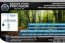 Ranger Point Precision - Marlin Rifle Expert, Gun Shop, Gunsmith / Ranger Point Precision is a leading innovator and producer of Marlin rifle accessories, caliber conversions, custom-built firearms and has extensive gunsmith expertise in a dozen rifle and handgun brands along with a CNC machine shop.