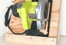 Workshop / Workshop Ideas | Workshop Storage | Workshop Organization | Woodshop | Woodworking Space