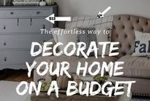 Decorating Ideas and Tips / Decorating Ideas | Decorating Tips | Home Decor | Home Decor Ideas | Home Decor Tips