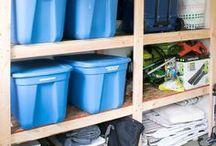 Storage and Organization / Storage Ideas | Organization Tips
