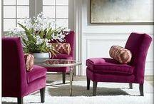 Viva La Velvet / Get the luxury look with sumptuous velvet interiors.