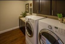 Laundry Rooms / Clean and fresh ideas for your laundry room!