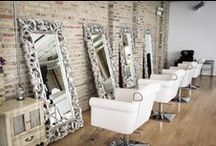 Fix Up Look Sharp / Decor ideas & inspiration for hair salons, nail bars, beauty parlours & make up counters.