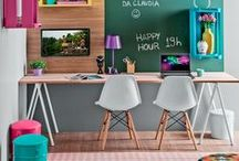 Back To School / Beat the back to school blues by creating a fun & creative workspace!