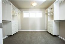 Masterful closet organizational systems / Featuring top notch Closet systems available option packages.