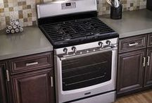 The Great American Kitchen / Kitchen inspiration. Maytag style. Here you'll not only find durable appliances from an American company, but also other well-designed kitchen items all from companies right here in the U.S.