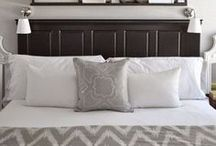 Bedroom Decor Inspiration / I'm dying to update our master bedroom, but need some inspiration!