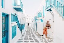 t r a v e l // greece / where to go // what to see // places to visit in greece