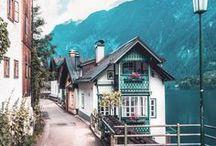 t r a v e l // austria / where to go // what to see // places to visit in austria