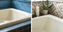 Bathroom Inspiration and Ideas / Bathroom Renovation | Bathroom Makeovers | Bathroom Decorating | Bathroom Remodel