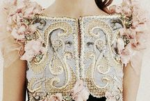 Princess / I'd dress by 6 words: Elie Saab, Valentino, Chanel, and Zuhair Murad.