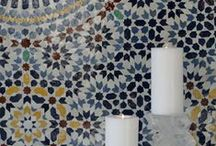 MH   MOSAICS / Moroccan mosaic tiles, also referred to as zillij, Moorish or Fes tiles, have an antique look because they are authentically handmade. Our master artisans in the ancient city of Fes, the center of Moroccan tile, use traditional techniques of cutting and glazing zellij tile. The result is an unparalleled richness of color and quality of craft. Mosaic House, a centuries old family business, is pleased to carry on this tradition and make it available to today's designers and home owners.