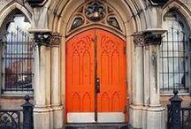 Orange doors / by Elsebeth Hermansen