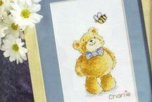 Cross stitch: Bears