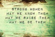 i'm talking woman to woman / women that inspire