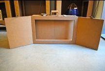 Cardboard Kamishibai