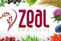 A Zeal for Life / The advantages of Zurvita and their   Zeal Wellness product and protein powder  to replace supplements and manage weight loss.