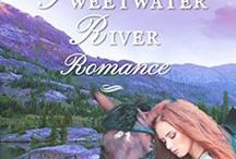 A Sweetwater River Romance / Official board of A SWEETWATER RIVER ROMANCE by Misty M. Beller. A Christian historical romance novel.