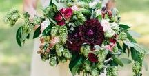 Wedding flowers with hops! / Ways to incorporate hops into your wedding flowers and decor