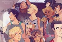 Greek gods / PERCY JACKSON & HEROS OF OLYMPUS!