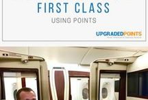 Travel Hacking - First Class Booking Guides / travel hacks, travel hacking, how to fly first class, fly first class, how to book first class, award travel, points and miles, travel points, airline miles, airline points, award booking, booking flights, smart travel, smarter travel, and more