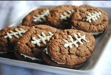 FOOTBALL FUN / We love our Seahawks! Here are some fun food and activities as we cheer on our favorite football team!