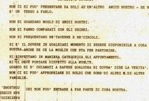 Mafia Ten Commandments