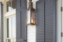 ...now for the shutters