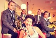 Entertainment Ideas for a Vintage Wedding / Vintage Weddings are becoming more and more popular in the UK throughout 2014 and well into 2015. Here are a few current entertainment ideas to help out if you are looking to hire vintage performers to compliment your wedding.