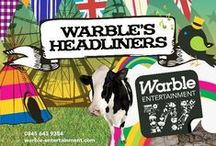About Warble Entertainment / Warble Entertainment Agency provide live entertainment to more than 4,500 weddings in the UK each year. We provide everything from live cover bands to street entertainers for weddings, private parties and corporate events. Check us out at www.warble-entertainment.com