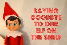 ELF ON A SHELF / Clever ideas for getting your little elf into mischief!