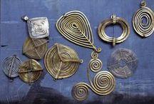 Jewelry Wireworking - Handmade chain and pendants
