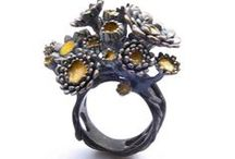 R I N G S / contemporary rings for women - the more outrageous the more I love them
