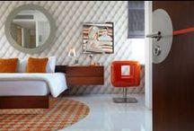 Interiors / Luna2 private hotel & Luna2 studiotel interiors, in Bali, designed by Melanie Hall