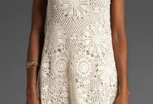 Crochet tunic, dress, vs