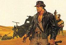 idols / Mostly Indiana Jones...